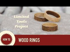 Make Wood Rings (No Tools Required): 8 Steps (with Pictures)