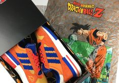 finest selection 421b7 5690b Dragon Ball Z adidas Goku ZX 500 RM Unboxing Video thatdope sneakers  luxury