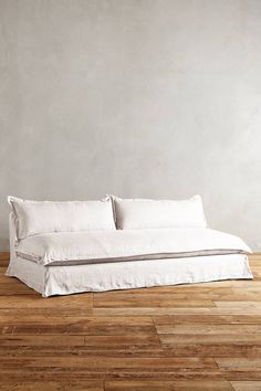 the ARK collection - Plush Belgian Linen Sofa - Fog Linen Couch, Couch Covers, Living Room Sofa, Sofa Furniture, Slipcovers, Home Decor, House, Inspiration, Interiors