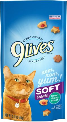 Soft Cat Treats Ocean Medley Flavor Bag Pack of 12 * You can get additional details at the image link. (This is an affiliate link) Cat Training Pads, Cat Id Tags, Cat Shedding, Cat Fleas, Cat Memorial, Cat Supplies, Cat Grooming, Cat Health, Treats