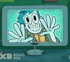 Billy waving from inside Spencer's computer. <3 Dude Thats My Ghost, Animation Studios, Manga, Inuyasha, Cartoon Art, Boruto, Cartoon Network, Confused, Mystery