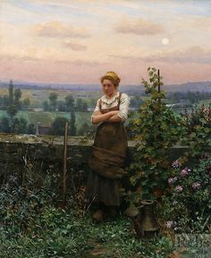 Time to Rest ~ Daniel Ridgway Knight ~ (American: 1839-1924)