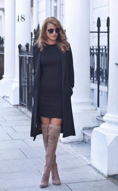 You have to select proper Knee High Boots Outfit to get that glamorous look in winter too. Inspire people with your style with knee-high boots outfits