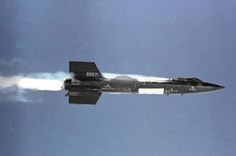 While the Blackbird SR-71 was the fastest manned airplane ever made, the fastest manned aircraft is the North American X-15, a rocket plane that flew for the first time on June 8, 1959, launched from a NASA NB-52B mothership. On October 1967 it pulverized all records: 4,520 miles per hour (7,274 km/h).