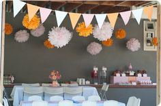 Orange & Pink Party! - Kara's Party Ideas - The Place for All Things Party