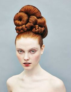 I want a hair piece like this SO BAD...I just need my hair to grow out to support it