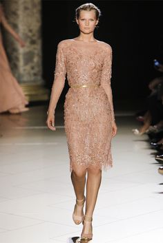 gold beaded gown - Elie Saab Haute Couture A/W '12