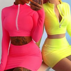Girly Outfits, Fashion Outfits, Miami Outfits, Jeans Fashion, Leila, Skirt Suit, Latest Fashion For Women, Casual Dresses, Short Dresses