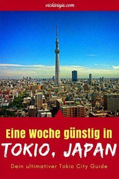 Möchtest du Tokio in einer Woche entdecken und dabei sogar Geld sparen ohne etwas zu verpassen? Dann ist das der richtige Post für dich! I JapanI Tokio Budget I Eine Woche in Tokio I Tokio City Guide I Günstig in Tokio I Reise Itinerary I #Japan #Tokio