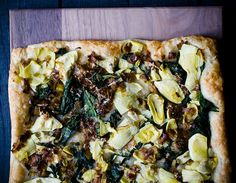 22 Favorite Ways to Use Puff Pastry: Spinach, Artichoke and Caramelized Leek Tart