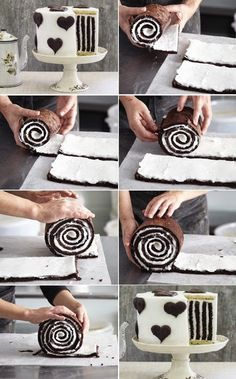 Very cool cake rolling instructions!