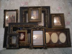 Ornate Open Picture Frames  Vintage Style~Wedding~French~ Romantic  Lot 10 #Cottage