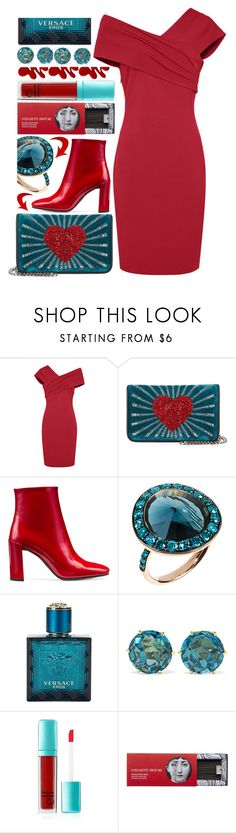 """""""One of my favorite color combinations"""" by sunnydays4everkh ❤ liked on Polyvore featuring Les Petits Joueurs, Stuart Weitzman, Annoushka, Versace, Ippolita, Forever 21 and Fornasetti"""