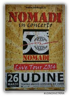 NOMADI IN CONCERTO A UDINE #UDINEINVETRINA #UDINE #FVG #NOMADI #CONCERTI #SPETTACOLO #MUSICA
