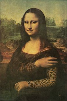 Mona Lisa tatuada