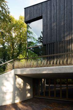 vvkh architecten projects energy-neutral villa meijendel in dune valley