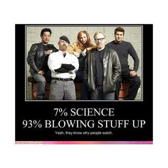 Mythbusters~ found on Polyvore