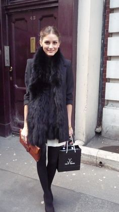 The Olivia Palermo Lookbook : Olivia Palermo : Beauty In Black