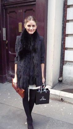 The Olivia Palermo Lookbook : Olivia Palermo : Beauty In Black