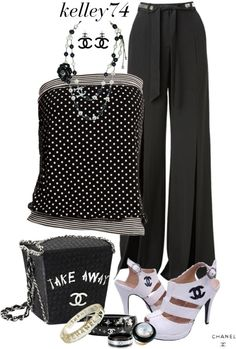 """""""Chanel Take Out"""" by kelley74 on Polyvore"""