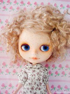 One Customized OOAK Blythe Doll  Rico by Dakawaiidolls on Etsy, $270.00