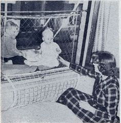 Vintage Everyday Incredible Pictures Of Baby Cages Hanging