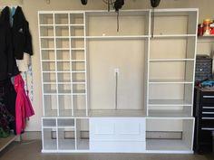 61 Ideas for shoe storage garage ana white Shoe Storage Bench Diy, Shoe Shelf Diy, Garage Shoe Storage, Garage Bench, Diy Shoe Rack, Entryway Bench Storage, Shoe Shelves, Garage Shelving, Diy Bench