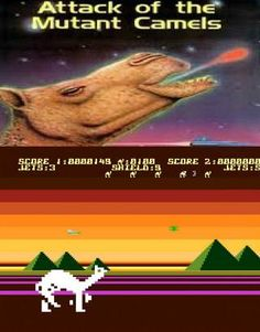 Attack of the Mutant Camels by Jeff Minter (Llamasoft) on the Atari XL/XE