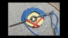 This is very simple and easy hand embroidery work. Try this easy and beautiful hand embroidery work. Handmade Embroidery Designs, Embroidery Neck Designs, Basic Embroidery Stitches, Hand Embroidery Videos, Hand Work Embroidery, Bead Embroidery Jewelry, Learn Embroidery, Hand Embroidery Stitches, Embroidery Techniques