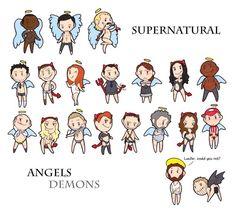 supernatural bedtime drawing - Google Search