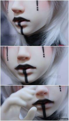 Makeup Inspo, Makeup Art, Lip Makeup, Makeup Inspiration, Makeup Tips, Beauty Makeup, Makeup Drawing, Anime Makeup, Fairy Makeup