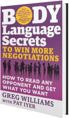 123 best free book pdf images on pinterest book worms books to negotiation and body language expert greg williams stopped by the activia website to talk about his latest book body language secrets to win more malvernweather Image collections