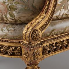 Suite of furniture Artist: Georges Jacob (French, 1739–1814, master 1765) Maker: embroidered upholstery in the style of Philippe de Lasalle (French, 1723–1804)