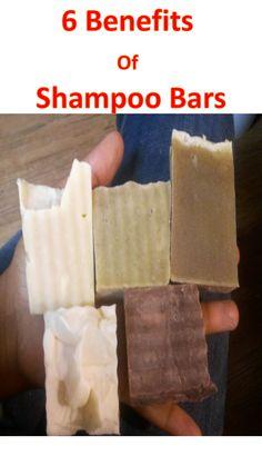 ... shampoo bar. What's the benefit of using a bar vs. mud wash/shea
