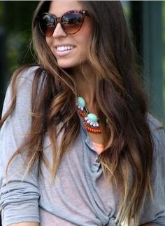 This is gonna be my next hair color for fall!