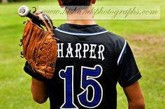 Baseball High School Senior Portraits, His Hands Photographs