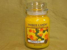 Yankee Candle 22 oz Large Jar Candle  New --- Daffodil | Home & Garden, Home Décor, Candles | eBay!