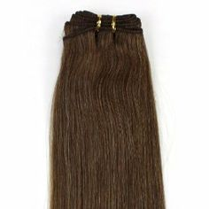 """26inch Long 100g Brazilian remy Weft Human Hair Extensions#08 Chestnut Brown by Martonline. $111.00. 100% Brazilian remy human hair extensions and very competitive price. Wholesale price. Can be washed, heat styled. Wide weft without clips, perfect for fusion method or use clips in extensions. High quality, tangle free, silky soft. Length:26""""long. Texture:Straight. Qty:1 piece. Color:#08. Weight:100g/pc. Type:Weft without clips. Color references:#01 Jet black,#1B Off B..."""