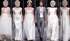 El dúo sevillano Victorio y Lucchino ha presentado su colección de vestidos de novia 2013 en Gaudí Novias ante un público expectante.