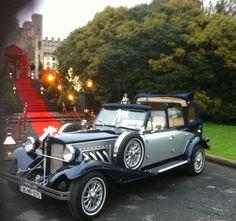 Wedding Car Hire, Luxury Wedding, Mercedes E Class, Dublin, Antique Cars, Ireland, Castle, Vintage, Vintage Cars