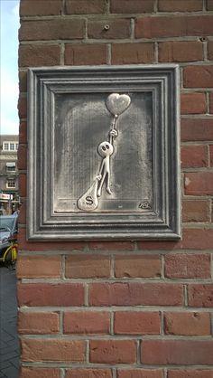 Found it in Damrak street in Amsterdam. Summer 2016