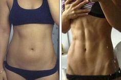 Únete al reto de SOLO 30 DÍAS para lograr abdomen de ACERO