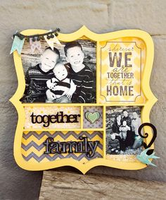 How cute are these Shadowboxes and scrapbook kits? Love these. and They are on sale today!