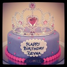 Crown cake www.facebook.com/sugaholic.cakes