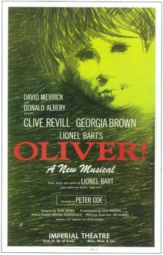 Oliver! (Broadway) Movie Posters From Movie Poster Shop