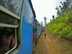 Train ride in Ella - Sri Lanka Itinerary