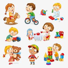 Find Children Play Toys Little Girl Riding stock images in HD and millions of other royalty-free stock photos, illustrations and vectors in the Shutterstock collection. Thousands of new, high-quality pictures added every day. Evil Cartoon Characters, Daily Routine Activities, New Toy Story, People Illustration, Funny Illustration, Boy Pictures, Boys Playing, Baby Play, Toddler Gifts