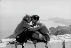I want to devour you with my eyes, and tell you over and over that you've never been so beautiful. – Alain Delon