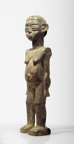 A Lobi sculpture of Defrete, Sib, Latara