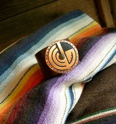 Southwestern Copper Leather Bracelet or by HuntandGatherStyleDS